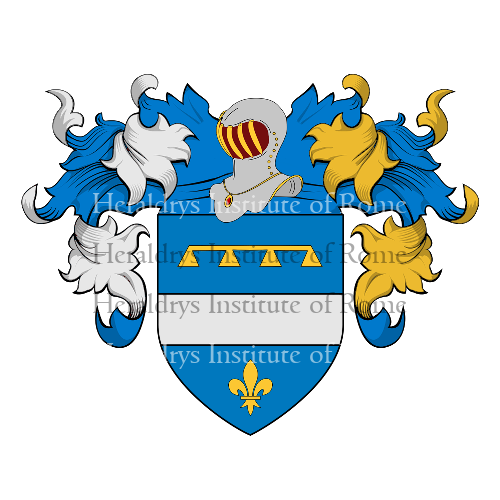 Coat of Arms of family Zanet
