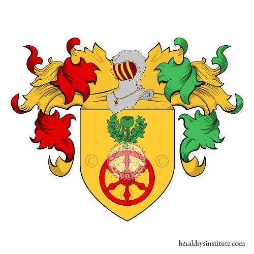 Coat of Arms of family Binos