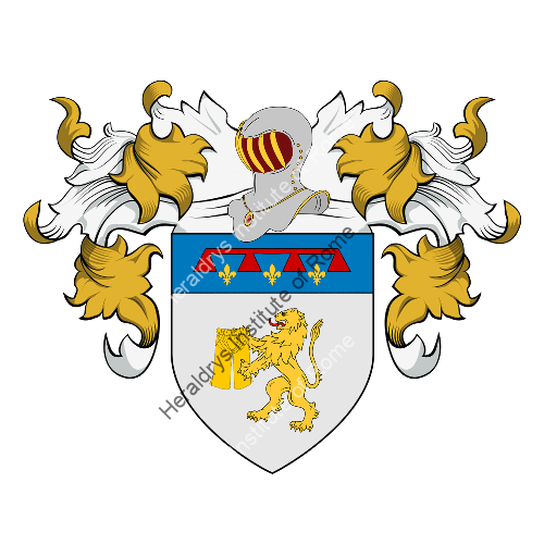 Coat of Arms of family Calzoni