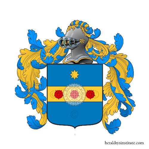 Coat of Arms of family Mecconi