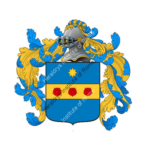 Coat of Arms of family Zecconi