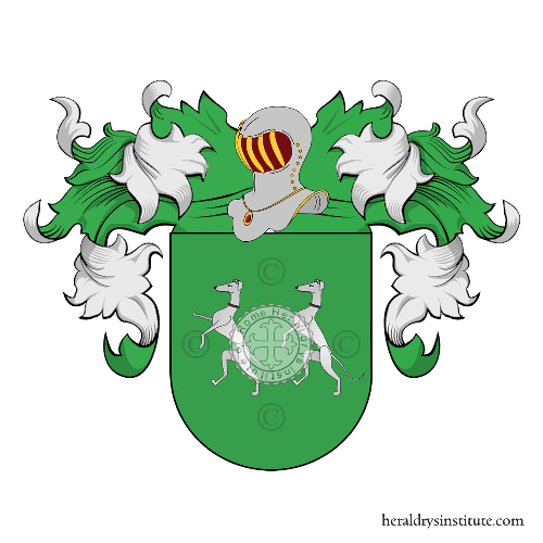 Coat of Arms of family Pompa