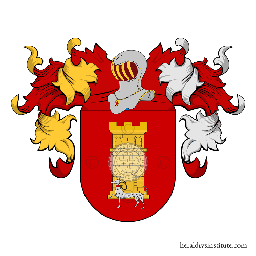 Coat of Arms of family Roque