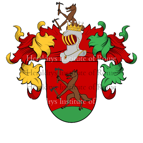 Coat of Arms of family Pfanner