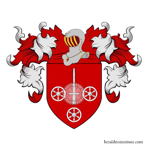 Coat of Arms of family Rovelli