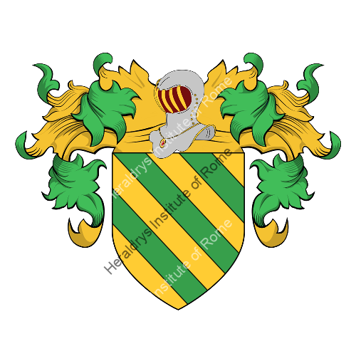 Coat of Arms of family Borredon
