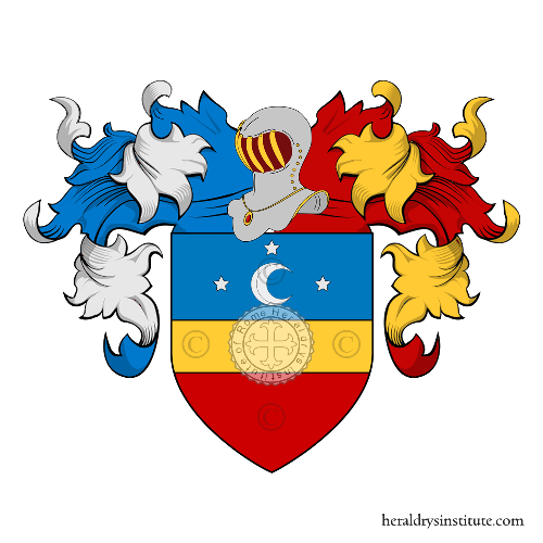Coat of Arms of family Lampi