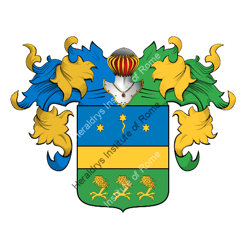 Coat of Arms of family Gonzati