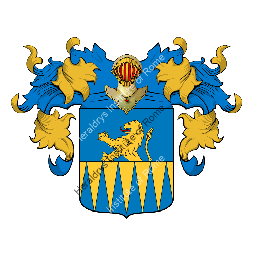 Coat of Arms of family Granito