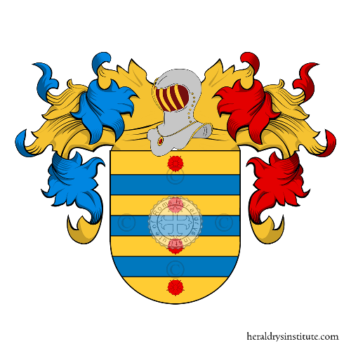 Coat of Arms of family Capdevilla
