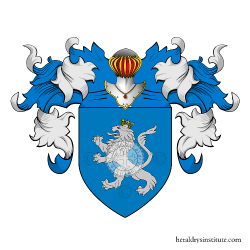 Coat of Arms of family Ghilini