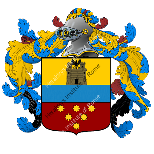 Coat of Arms of family Panzolini