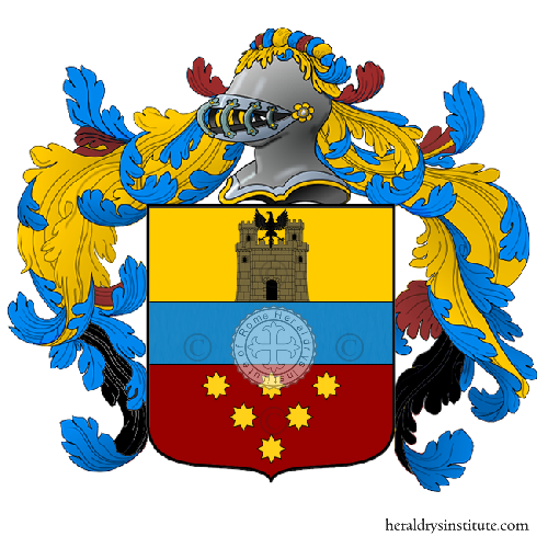 Coat of Arms of family Toccoli