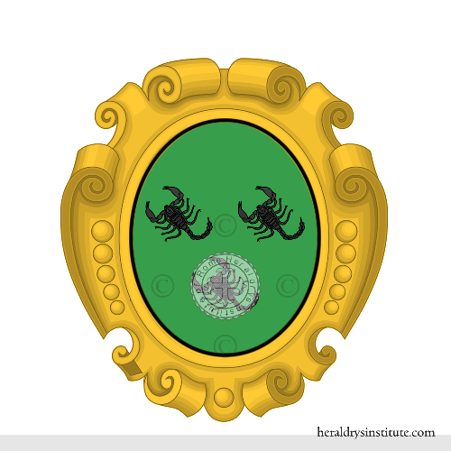 Coat of Arms of family Scorpioni