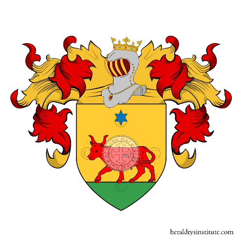 Coat of Arms of family Bo