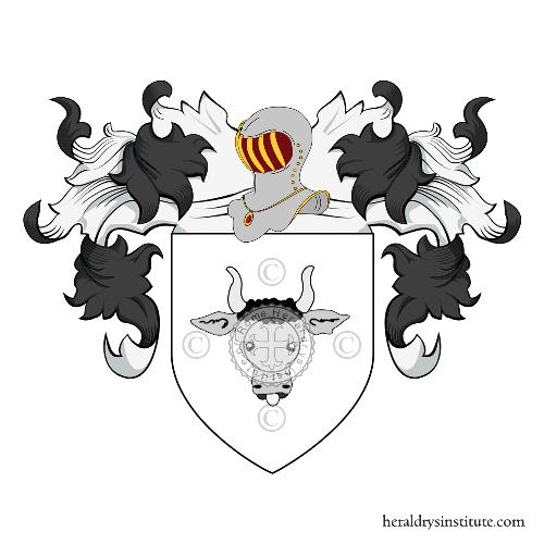Coat of Arms of family dal Bo