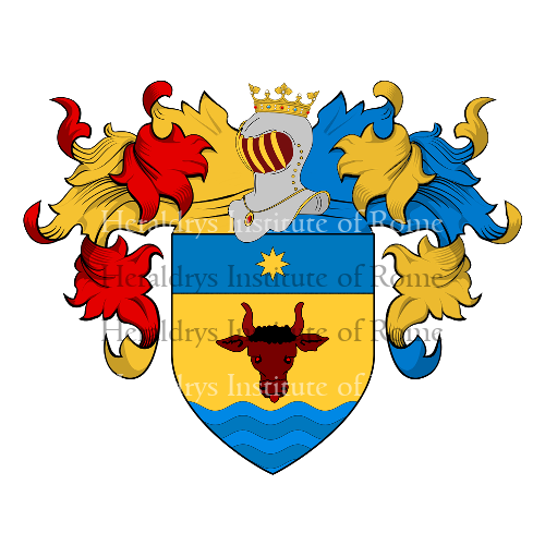 Coat of Arms of family dal Bò