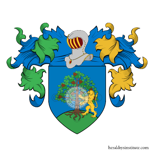 Coat of arms of family di Stefano