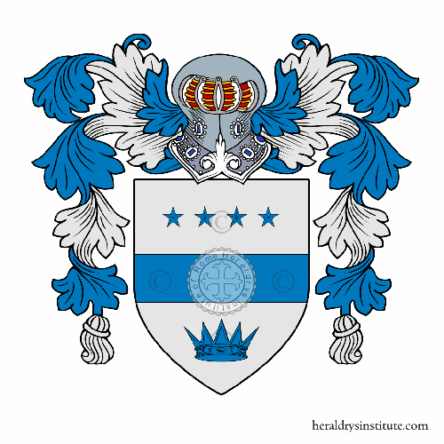 Coat of arms of family de Stefano