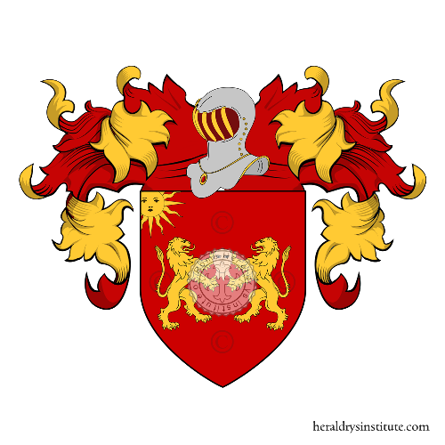 Coat of Arms of family Boccati