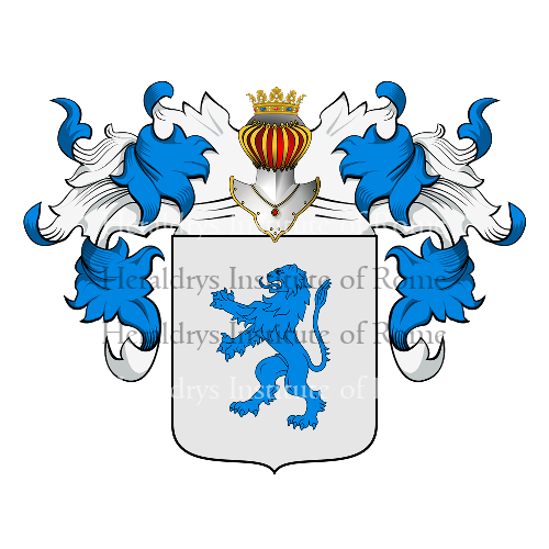 Coat of Arms of family Sandali