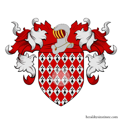 Coat of Arms of family Dol ou Dolhen