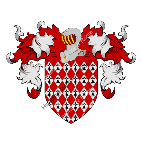 Coat of Arms of family Dolhen
