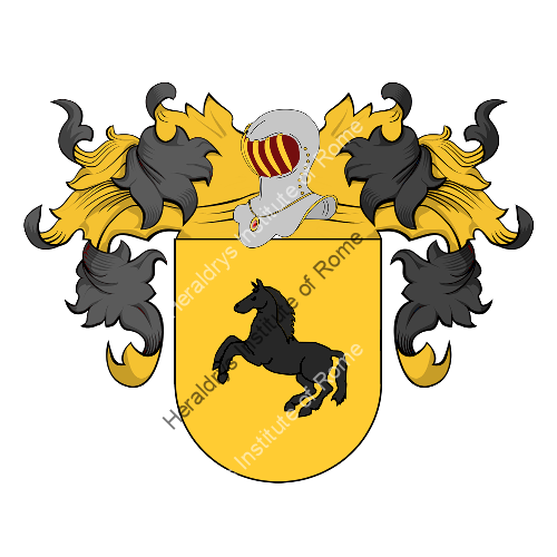 Coat of Arms of family Campina (s)