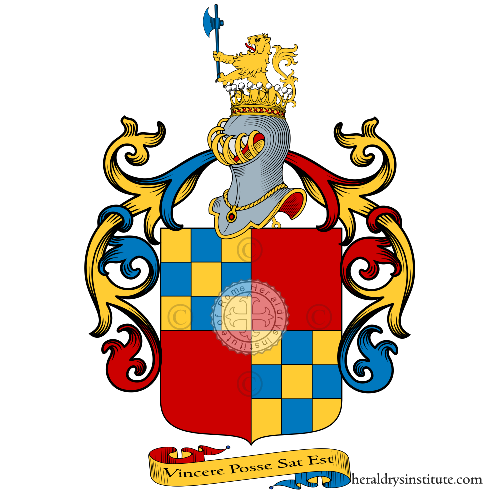 Coat of Arms of family Visca