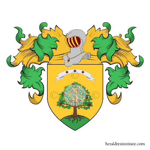Coat of Arms of family Albarelli