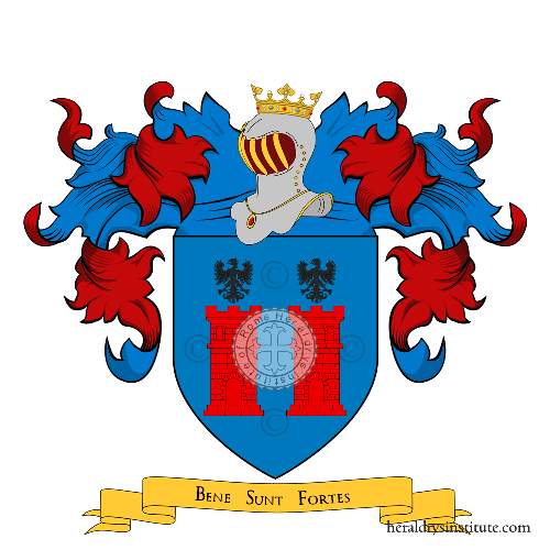 Coat of Arms of family Benisson