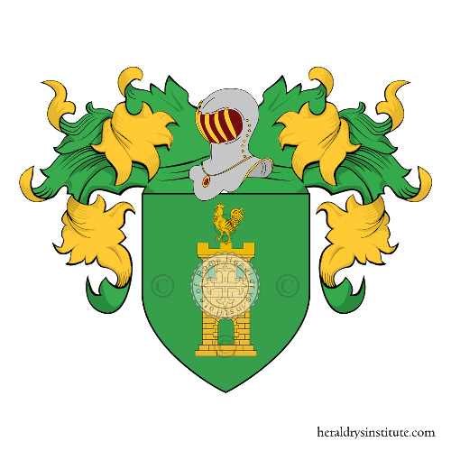Coat of Arms of family Corrales