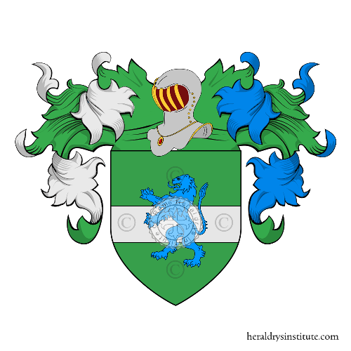 Coat of Arms of family Fornetti