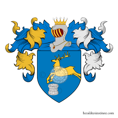Coat of Arms of family Pozza
