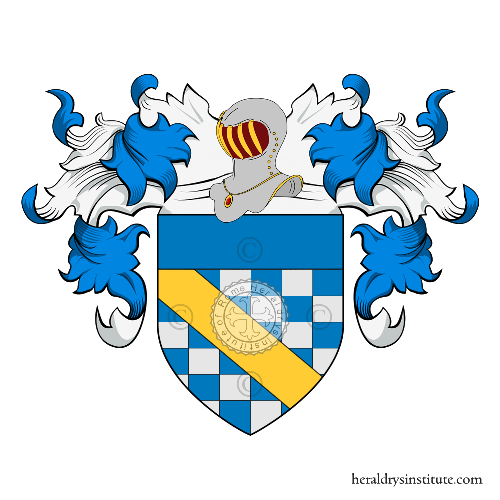 Coat of Arms of family Rusticali
