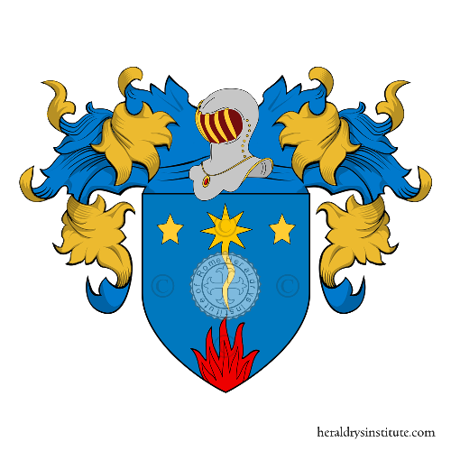 Coat of Arms of family Fogale o Fogal