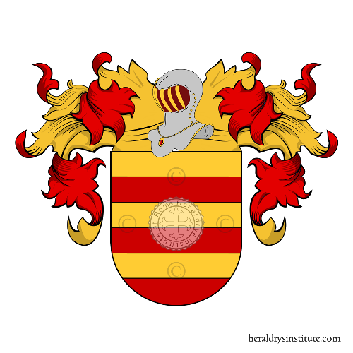 Coat of Arms of family Sandìn