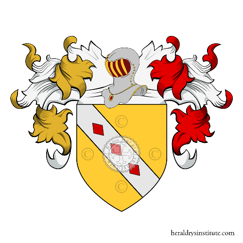 Coat of Arms of family Rey