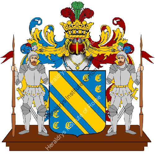 Coat of Arms of family Scelli
