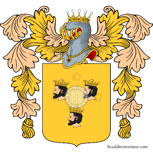 Coat of Arms of family Cozzi