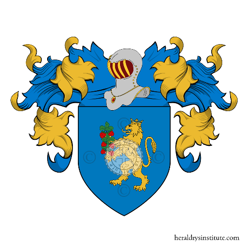Coat of Arms of family Merelli