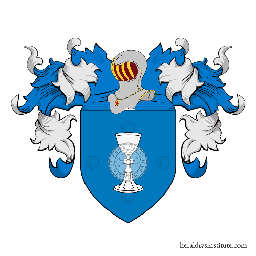 Coat of Arms of family Coppieri