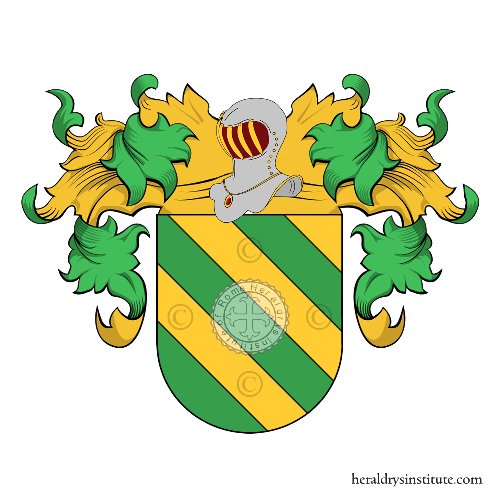 Coat of Arms of family Fernández de Lara