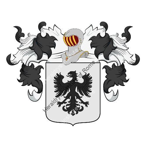 Coat of Arms of family Abiati