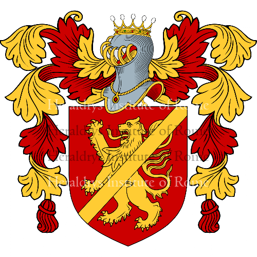 Coat of Arms of family Rossano