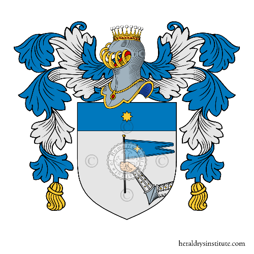 Coat of Arms of family Martinoni Caleppio