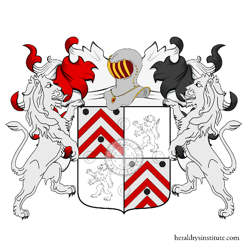 Coat of Arms of family Dutour Vulliard