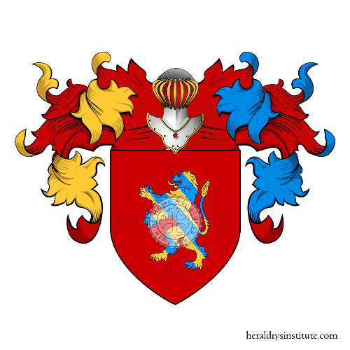Coat of Arms of family Moccia