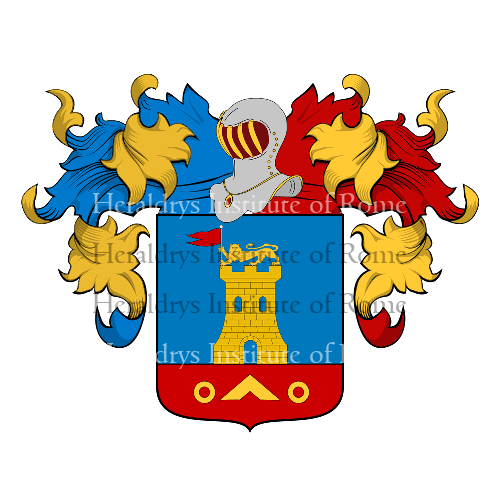 Coat of Arms of family Procida