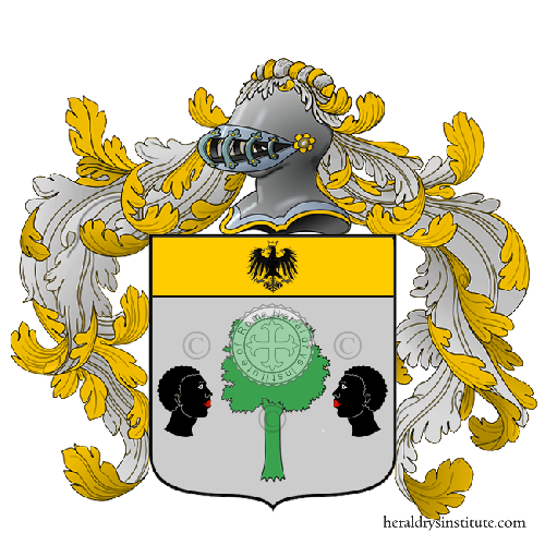 Coat of Arms of family Sceni